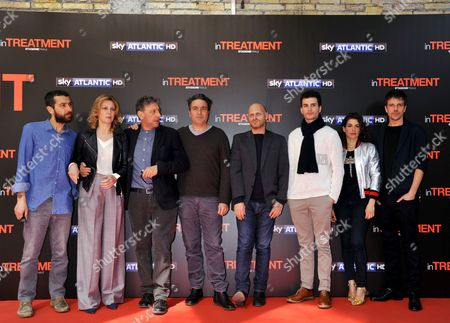 Editorial picture of 'In Treatment' TV series photocall, Rome, Italy - 15 Mar 2017