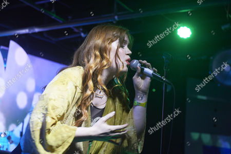 Editorial image of Anna Wise in concert, SXSW Fe stival, Austin, USA - 14 Mar 2017