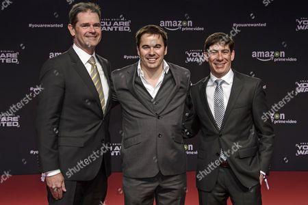 Jay Marine, Morgan Wandell and Russell Morris