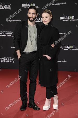Stock Photo of Maria-Victoria Dragus and Dejan Bucin