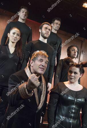 Michael Matus as Dionysos, Emma Ralston as Pluto