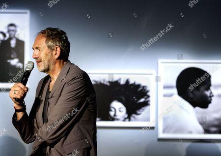 Stock Picture of Anton Corbijn, Dutch photographer, music video director, and film director