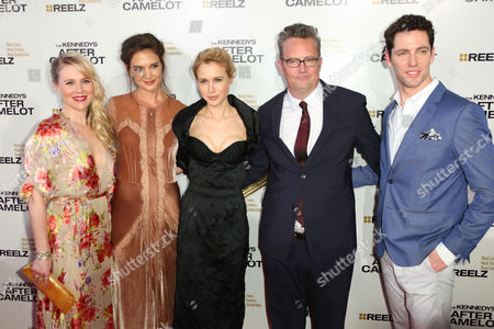 Editorial image of 'The Kennedys: After Camelot' TV series screening, Los Angeles, USA - 15 Mar 2017