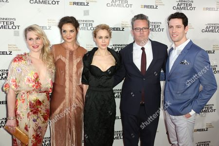 Editorial picture of 'The Kennedys: After Camelot' TV series screening, Los Angeles, USA - 15 Mar 2017