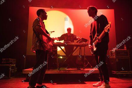 Stock Photo of Jagwar Ma - Gabriel Winterfield, Jono Ma and Jack Freeman