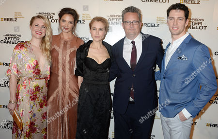Stock Picture of Kristin Booth, Katie Holmes, Kristen Hager, Matthew Perry, Brett Donahue