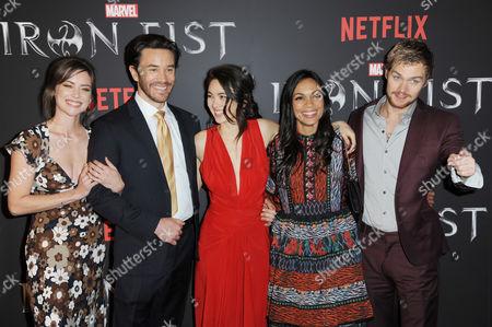 Jessica Stroup, Tom Pelphrey, Jessica Henwick, Rosario Dawson, Finn Jones