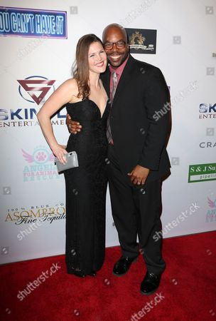 Andre Gordon and wife Nanette Gordon