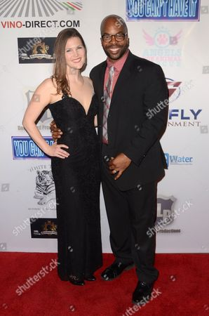 Stock Photo of Andre Gordon and Nannette Gordon