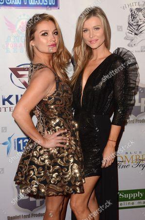 Stock Image of Marta Krupa and Joanna Krupa