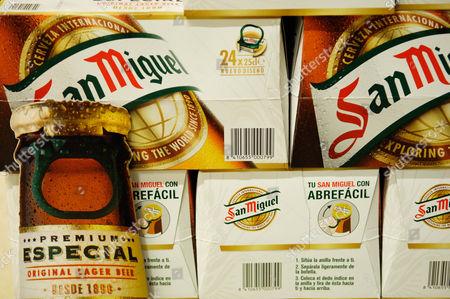 San Miguel, bottled beer