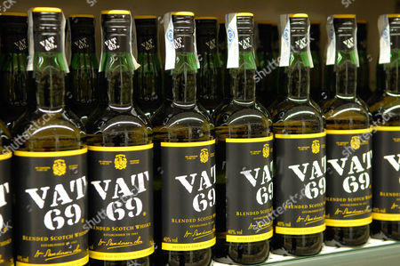 Stock Photo of Vat 69,blended Scotch Whisky