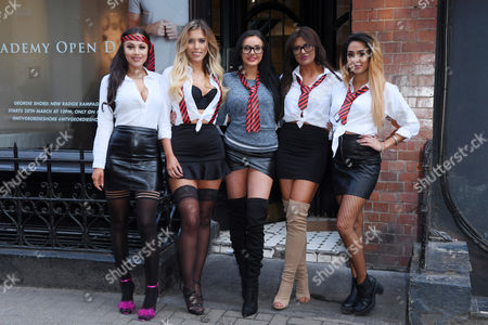 Chelsea Barber, Eve Shannon, Sarah Goodhart, Abbie Holborn and Zahida Allen