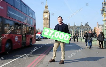Stock Picture of Cycling British Cycling, Turning the Corner petition hand in Westminster, Chris Boardman and Phil Jones  and MP Ruth Cadbury meeting