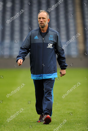 Brendan Venter - Italy defence coach.