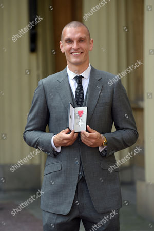 Mohamed Sbihi receives an MBE for services to Rowing