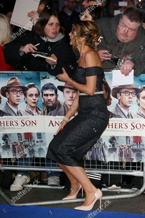 Editorial picture of 'Another Mother's Son' film premiere, Arrivals, London, UK - 16 Mar 2017