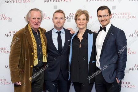Nicholas Farrell, Ronan Keating, Jenny Seagrove and Julian Kostov