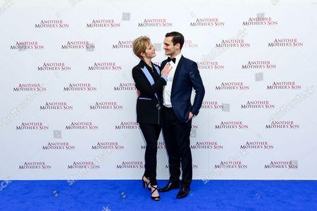 Jenny Seagrove and Julian Kostov