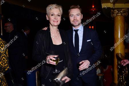 Jenny Lecoat and Ronan Keating