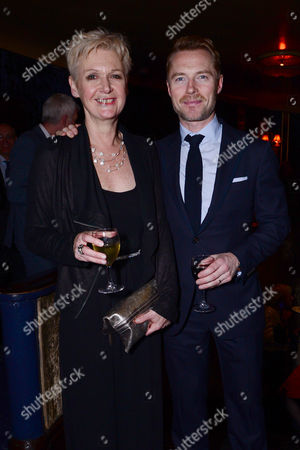 Jenny Lecoat and Ronan Keating