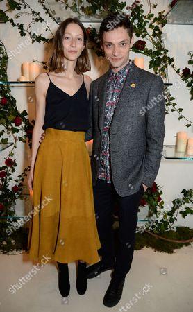 Alana Zimmer and Nick Rae