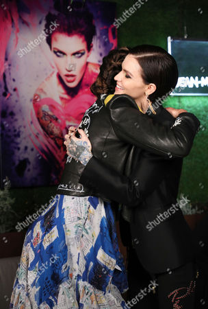 Stock Picture of Wende Zomnir (Founder, Urban Decay), Ruby Rose