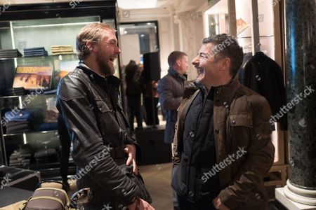 Stock Picture of Sam Pelly of LMA and Gavin Haig, CEO of Belstaff