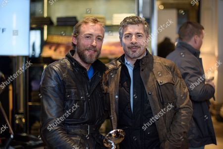 Sam Pelly of LMA and Gavin Haig, CEO of Belstaff