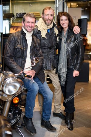 Editorial photo of Belstaff collection launch with Legendary Motorcycle Adventures, Spring Summer 2017, London, UK - 16 Mar 2017