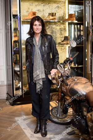 Editorial image of Belstaff collection launch with Legendary Motorcycle Adventures, Spring Summer 2017, London, UK - 16 Mar 2017