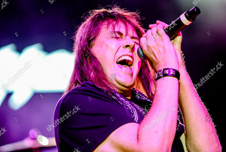 Editorial photo of Dokken in concert, Wiskey-A-Go-Go, Los Angeles, USA - 11 Mar 2017