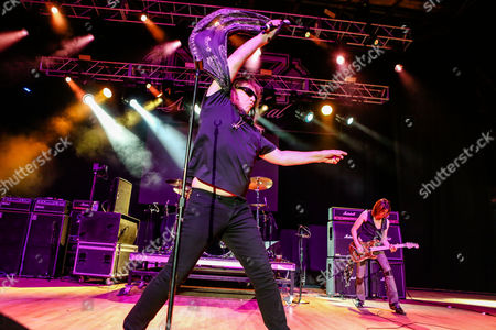 Editorial image of Dokken in concert, Wiskey-A-Go-Go, Los Angeles, USA - 11 Mar 2017