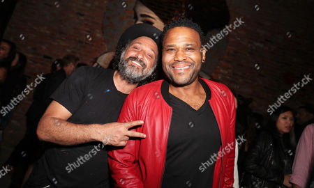 Mr Brainwash and Anthony Anderson