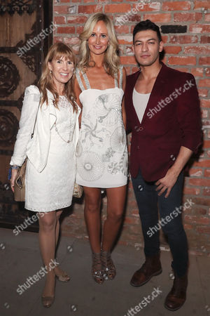 Stock Photo of Julia Verdin, Lady Victoria Hervey and Alexander Wraith