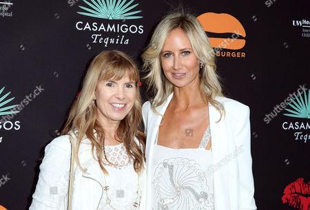 Producer Julia Verdin and Lady Victoria Hervey