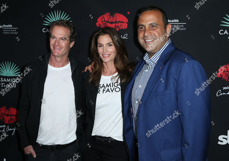 Editorial picture of Cindy Crawford & Rande Gerber x Umami Burger Artist Series launch, Los Angeles, USA - 16 Mar 2017