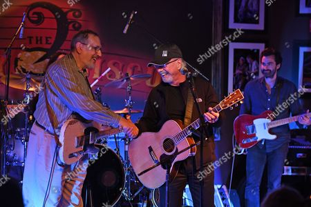 Editorial photo of David Bromberg and Dion DiMucci in concert at The Funky Biscuit, Boca Raton, USA - 16 Mar 2017