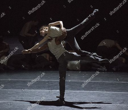 'Flight Pattern' choreographed by Crystal Pite performed by the Royal Ballet