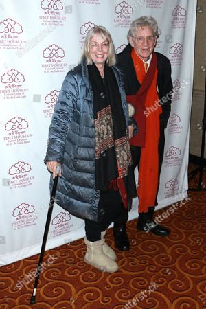 Editorial picture of Tibet House US' 30th Anniversary Benefit Gala celebrating Philip Glass' 80th birthday, Arrivals, New York, USA - 16 Mar 2017