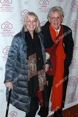 Stock Picture of Nena von Schlebrugge and Robert Thurman