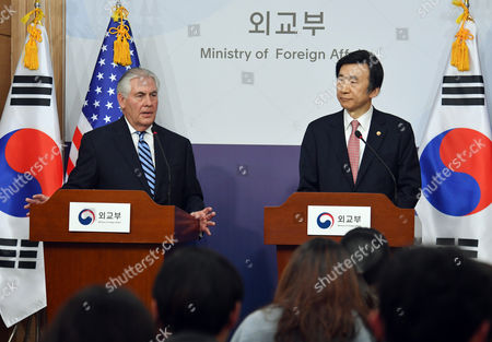 Rex Tillerson and Yun Byung-Se