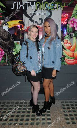 Editorial photo of SixtyNinety Collection launch party, London, UK - 16 Mar 2017