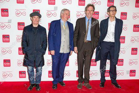Stock Photo of Tom Hollander, Simon Cornwell, Hugh Laurie with Alexei Boltho