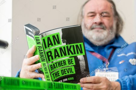 'Rather be the devil by Ian Rankin' at the launch of Rebus Fest