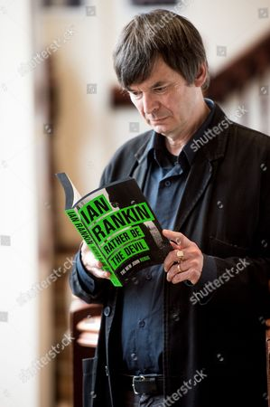 Ian Rankin at the launch of Rebus Fest