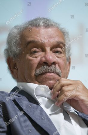 Stock Photo of Derek Walcott