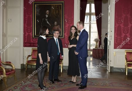Editorial image of Duke and Duchess of Cambridge in Paris, France - 17 Mar 2017