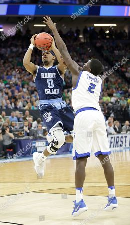 Editorial image of NCAA Rhode Island Creighton Basketball, Sacramento, USA - 17 Mar 2017