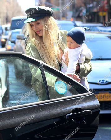 Editorial image of Candice Swanepoel out and about, New York, USA - 17 Mar 2017